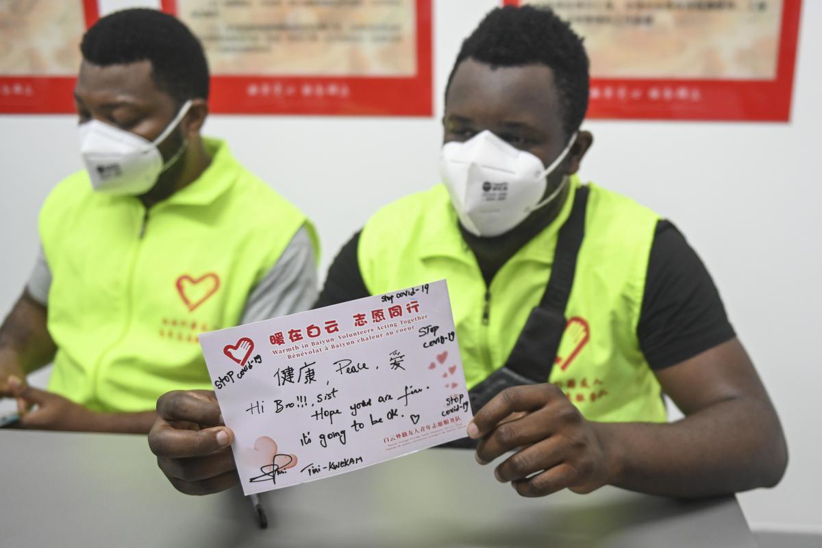 guangzhou China africans covid-19 quarantine racism