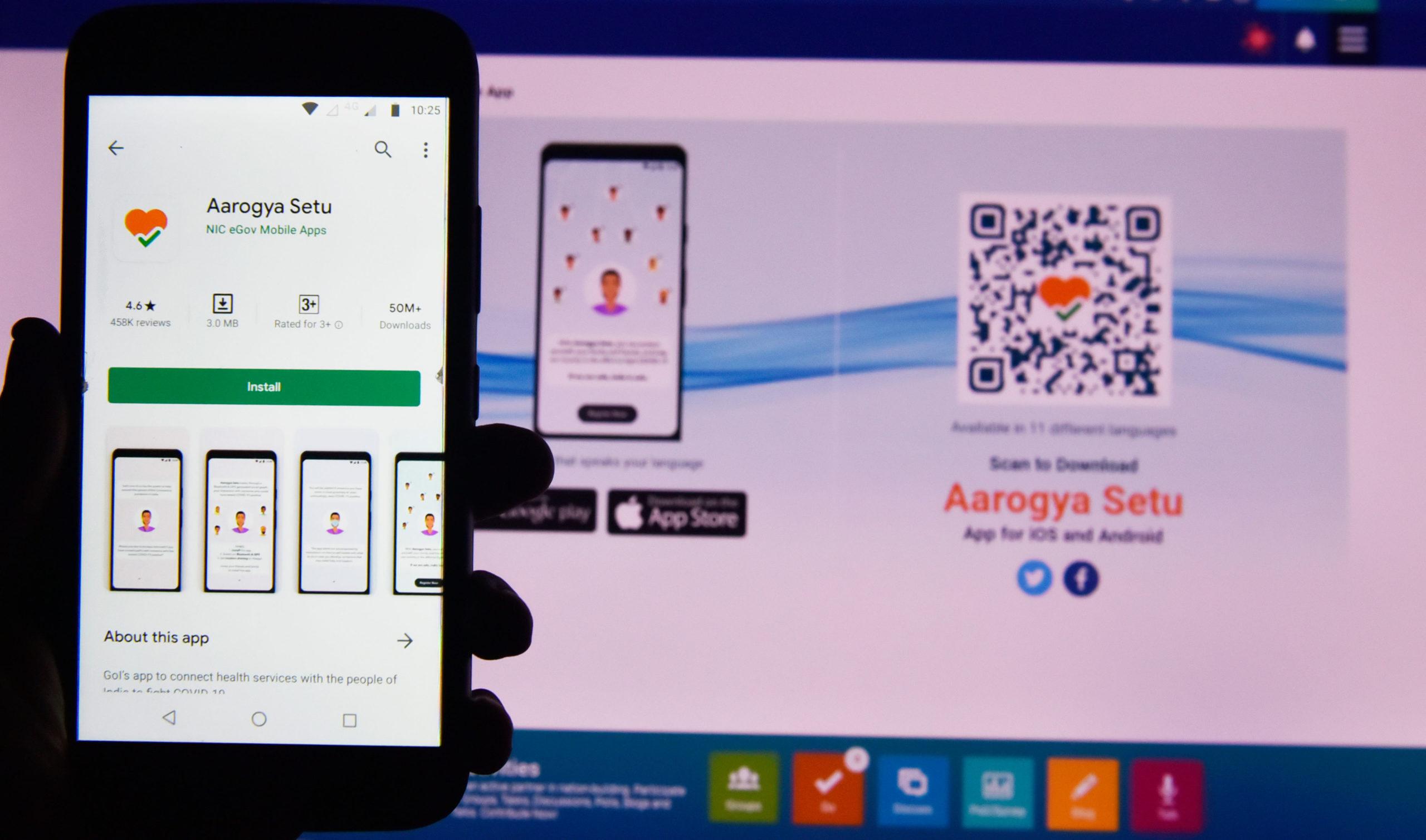 India covid-19 app Aarogya Setu