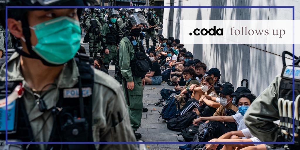 Hong Kong protests disinformation trolls Beijing China democracy Trump